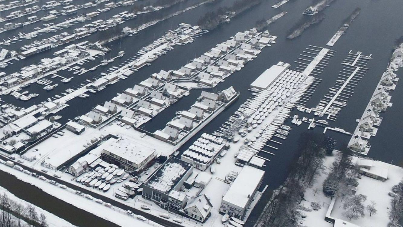 Winterstalling Loosdrechtse Plas 2